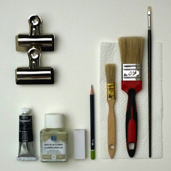 Anna cholak les conseils de l 39 artiste peintre for Materiel peinture a l huile